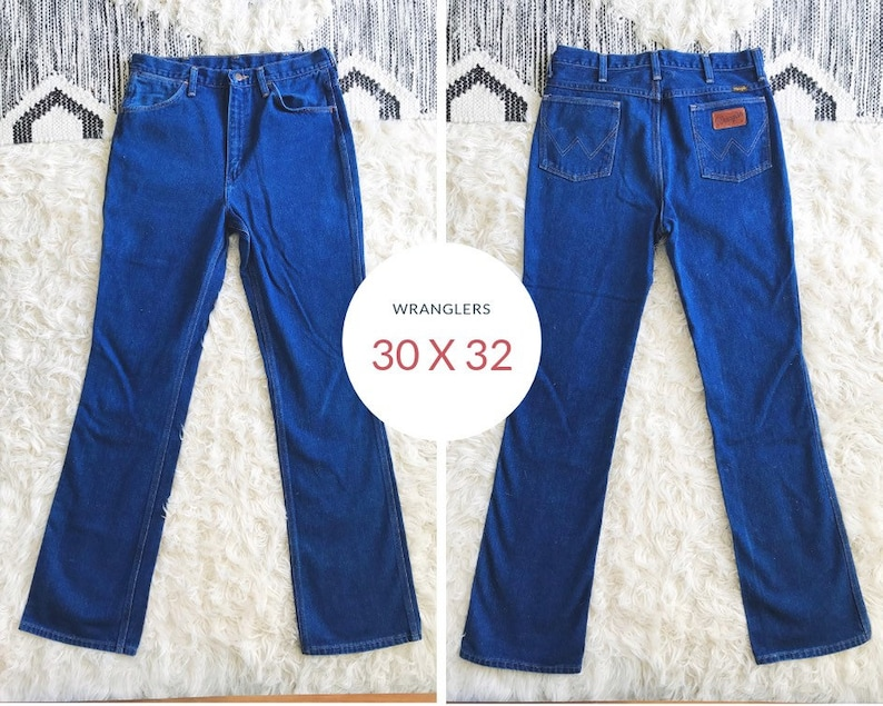 68f26a6e 30 x 32 70s Wrangler Jeans Style 935 Made in USA   Etsy