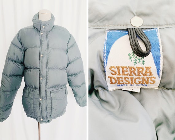 80s Medium Sierra Designs Puffer Coat