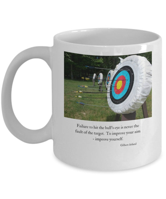 Quote Mug Archery Arland Coffee TargetWhiteCeramic11 Gilbert Oz TcFJ1lKu3