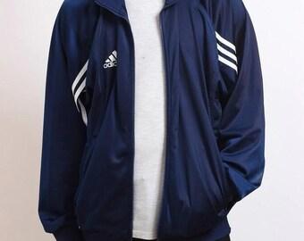 1b92523a1 Vintage Adidas Jacket Retro Coat