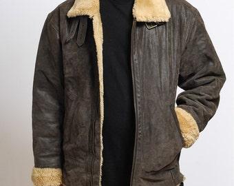 8fb0b281a Leather aviator | Etsy