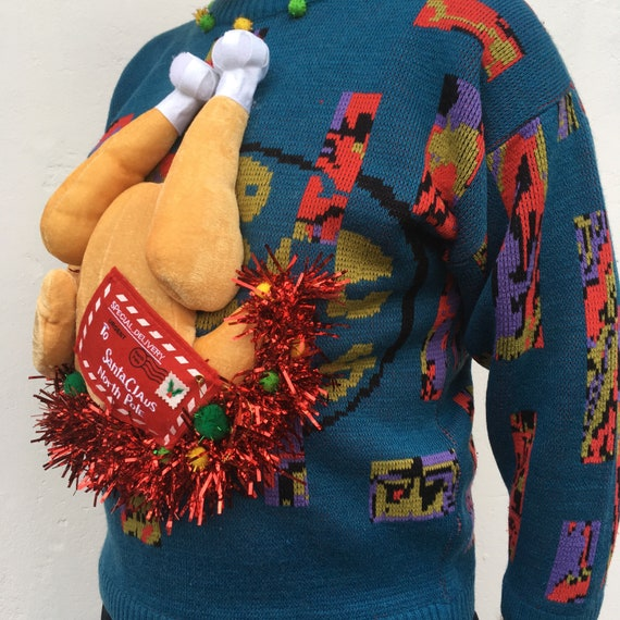 Rita Pull Pull De Noël Homme Ugly Christmas Sweater Pièce