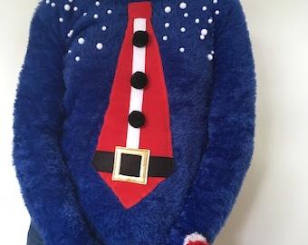 NICOLAS - Woman - T38 - Ugly christmas sweater - Unique piece