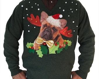 STAN - Unisexe - M - Ugly christmas sweater - Unique piece