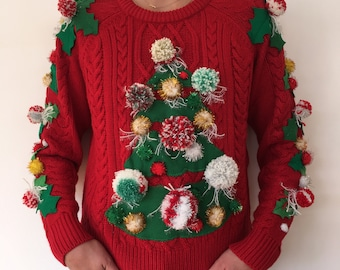 NORMANN - Woman - Size 40/42 - Ugly christmas sweater - Single piece
