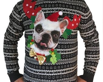 PACHA - Men - M - Ugly christmas sweater - Unique piece