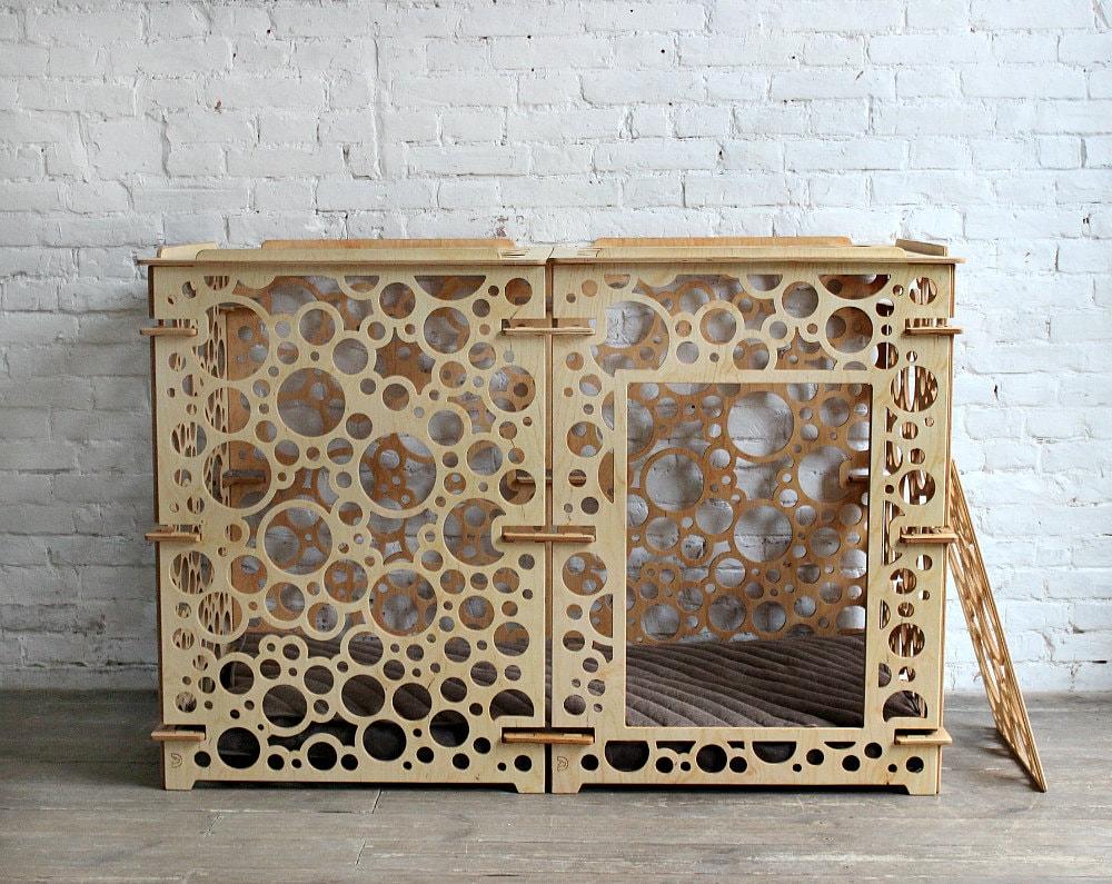Dog kennel - Large dog crates, dog house, dog bed, dog cage, dog furniture, dog pillow, big dog kennels, new dog gift, dog crate furniture for sale