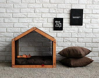 Dog house - Easy Chillout. Dog accessories, dog supplies, dog birthday gift, dog sofa, dog furniture, pet house, pet sleeping place, dog bed