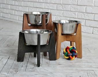 Large Dog bowls 1700 ml – Elevated Single bowl stand 7.8/9.11.8 inch.Large dog bowls, raised dog feeder, big dog bowls,extra large dog bowls