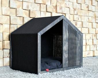 Dog house - Line Lounge. Modern dog house, dog bed, pet house, pet bed, dog bed house, house bed, new dog gift, dog pillow, dog furniture