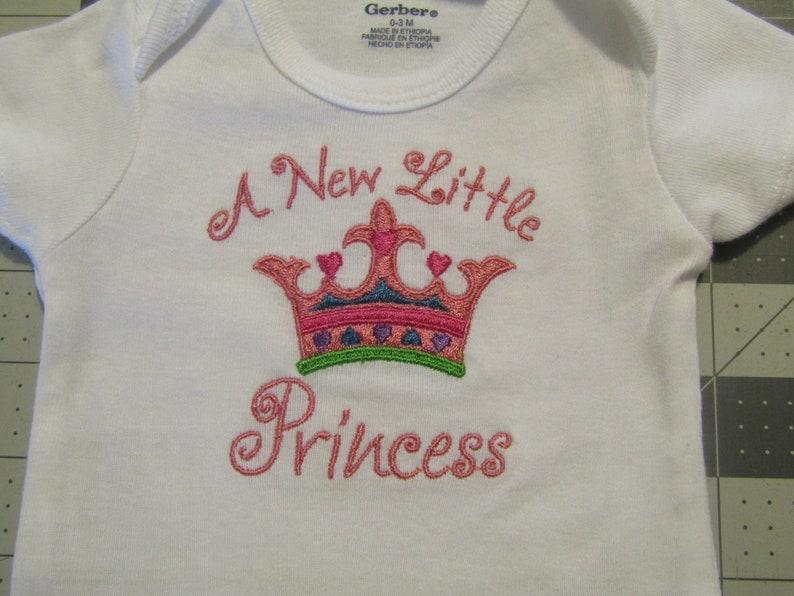 A New Little Princess Onesie
