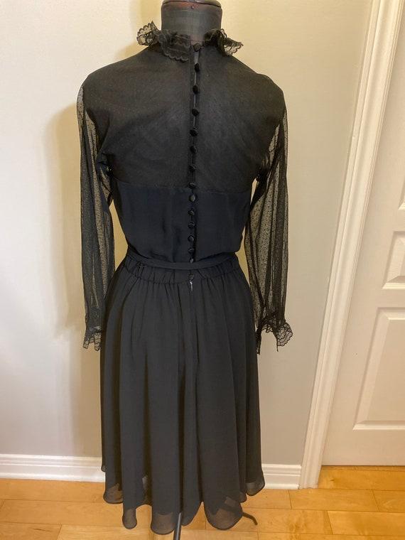 1970's dress (union made)