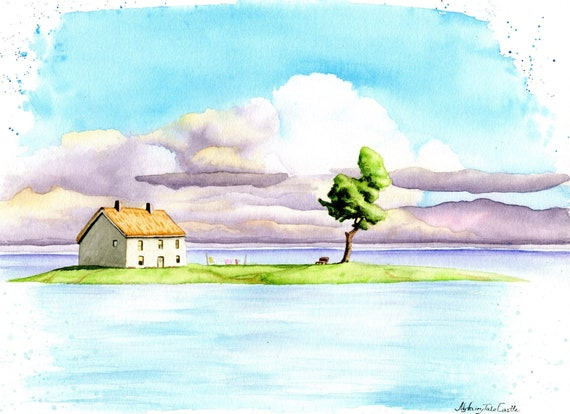 Spirited Away ORIGINAL WATERCOLOR drawing , anime Hayao Miyazaki art