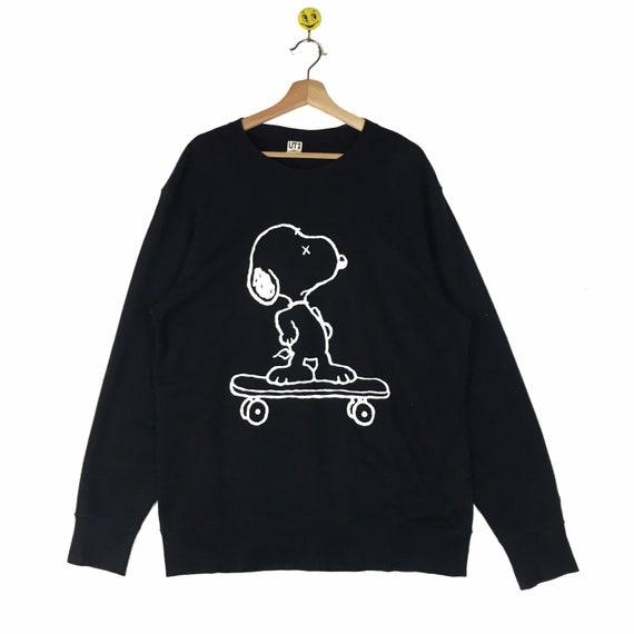 Rare!! Vintage 90s Snoopy Peanuts x Kaws Sweatshir