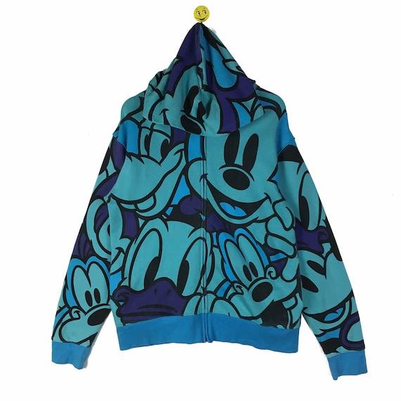 Rare!! Vintage Mickey Mouse Sweatshirt Mickey Pull