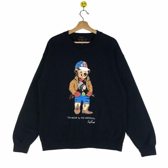 Rare!! Tisa Bear sweatshirt Tisa Bear pullover Tis