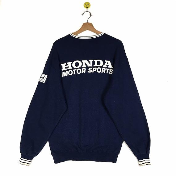 Rare!! Honda Motorsports sweatshirt Honda Motorspo