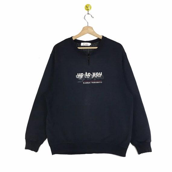 Rare!! Kansai Yamamoto sweatshirt Kansai Yamamoto… - image 1
