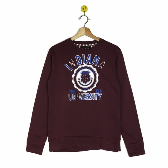 Rare!! Indiana University sweatshirt shirt Indiana