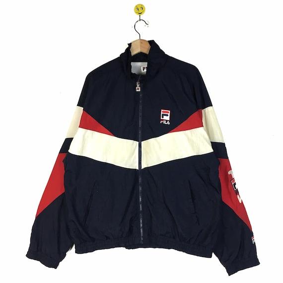 Rare!! Fila jacket windbreaker Fila pullover Fila