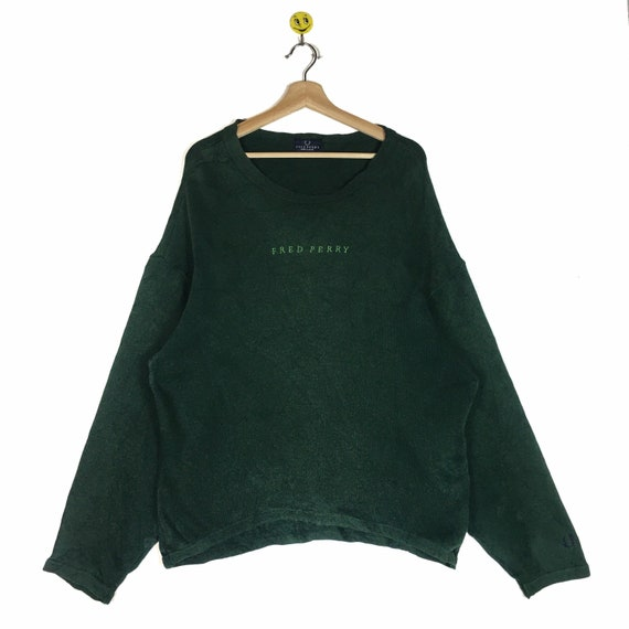 Rare!! Fred Perry Sweatshirt Fred Perry Sweater Fr