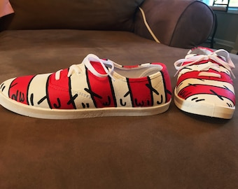 cbf41bba0c Made to Order Hand-painted Dr. Seuss Shoes