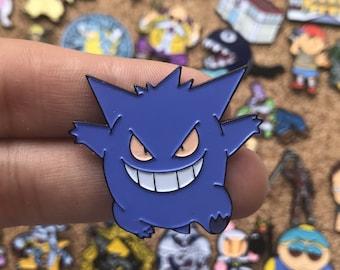 Gengar Pokemon Custom Enamel Pin 10040244b9a7