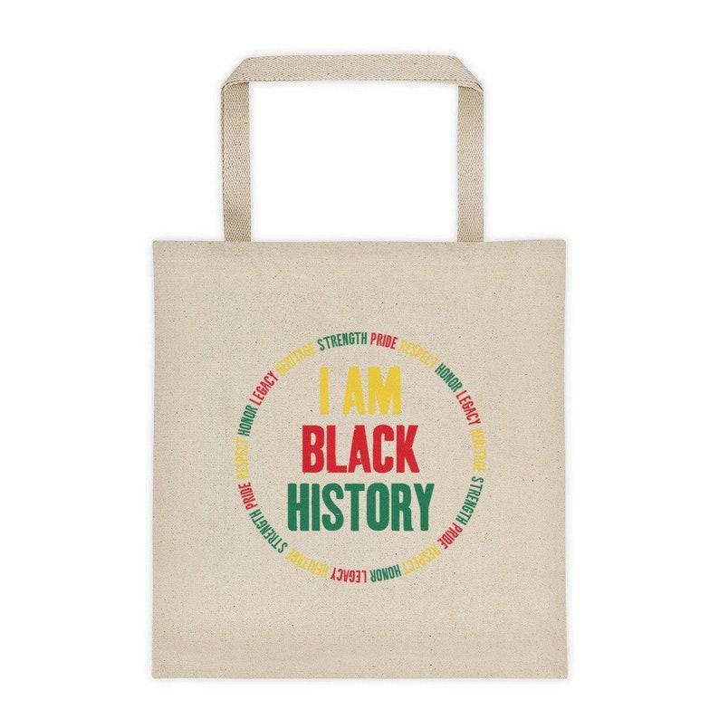 I Am Black History Tote bag HBCU Grad Black Excellence  ec6f4f87f1b2d