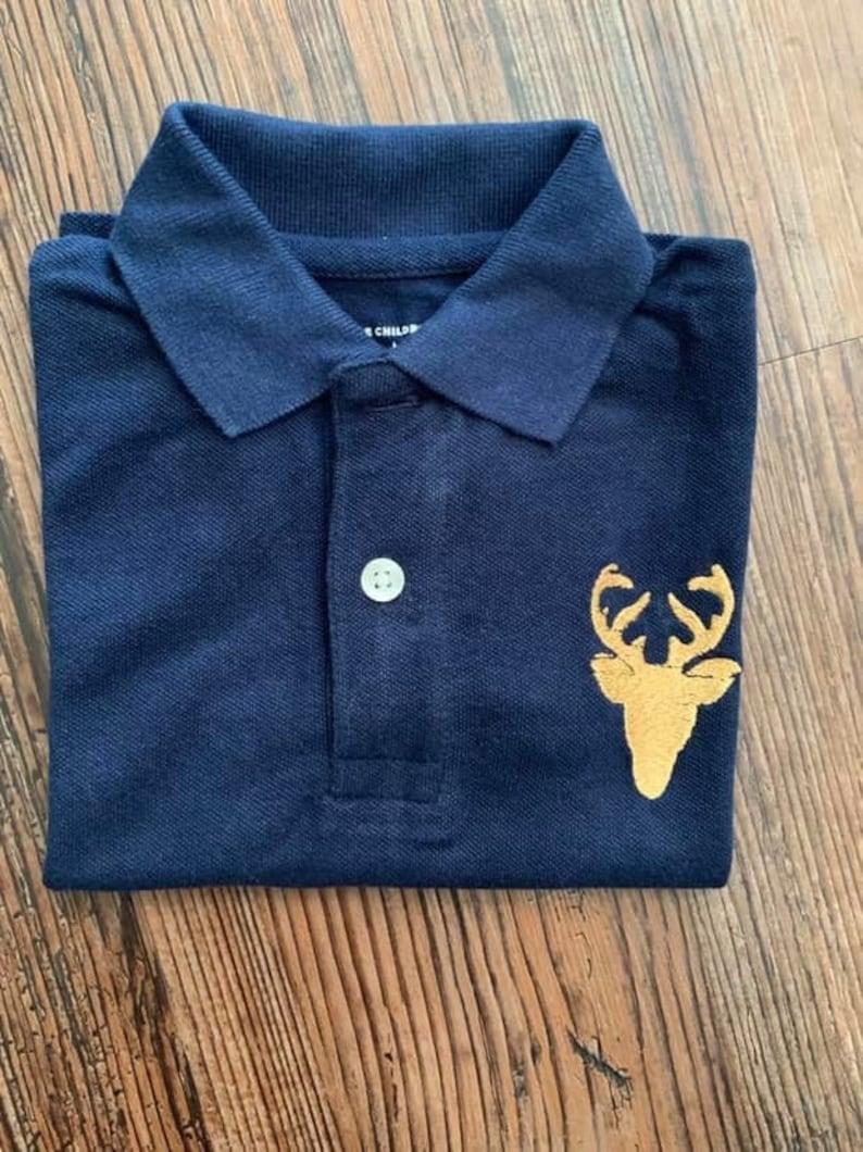 Deer head polo