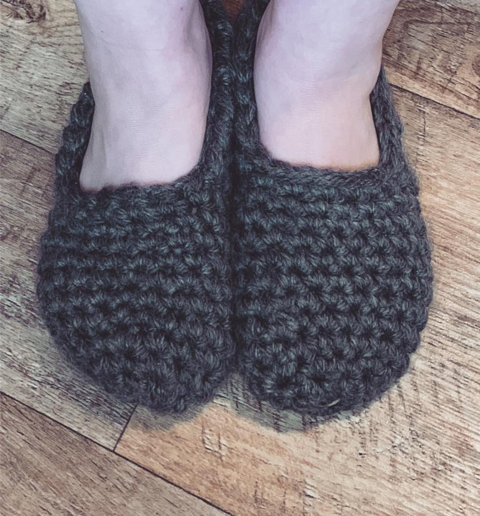 soft slippers handmade custom made to order house shoes crochet shoes crochet slippers flats ballet shoes crochet socks knit sho
