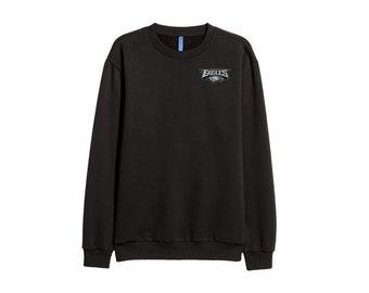 Philadelphia Eagles Sweatshirt Inspired Cotton Jumper top Retro patch  Unisex Women e5f4e4d5c
