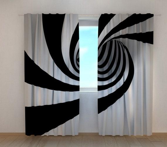 curtains panels blackout curtains black white window curtains