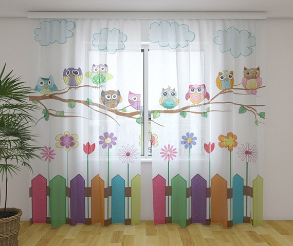 sheer curtains kids room curtains custom curtains