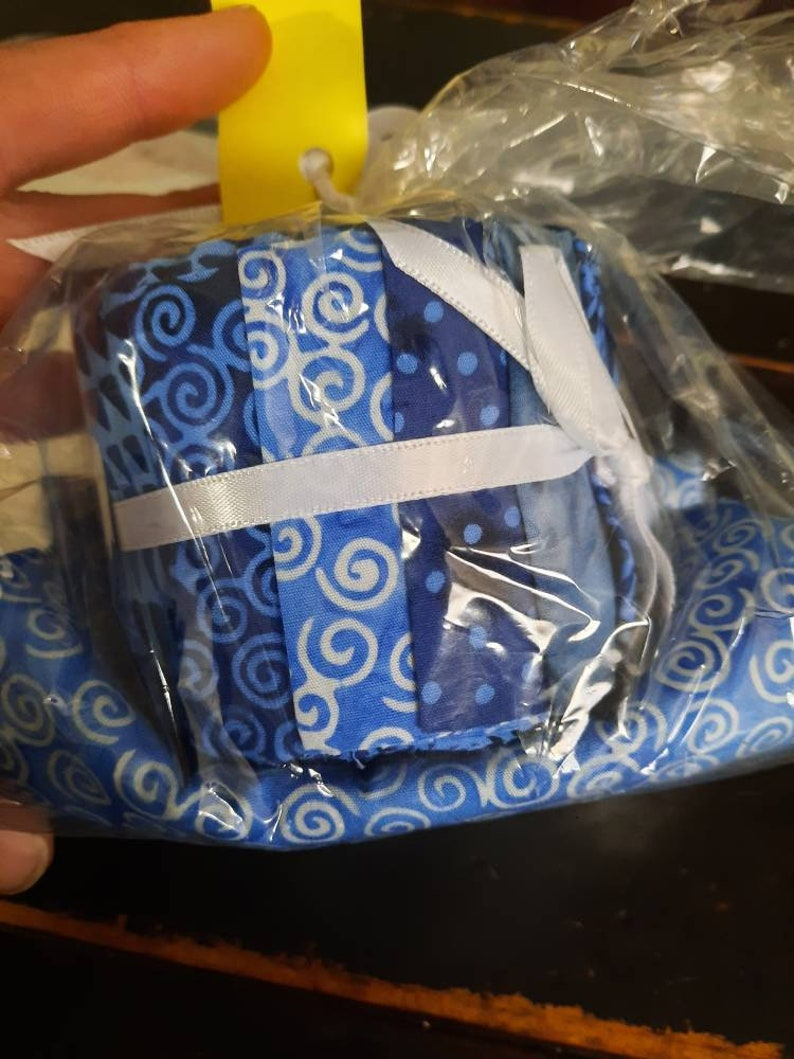 Bunny Hill designs Jelly Bag Kit in shades of blue