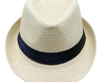 fadc8cf9828ea Toddler Boy Panama Sun Hat