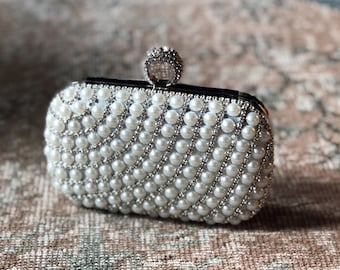 e05ce0a2fc1 Iris- wedding clutch|bridal clutch|crystal bag|bridal purse|bridal bag|metal  purse|vintage purse|bridesmaid purse|evening purse|pearl purse