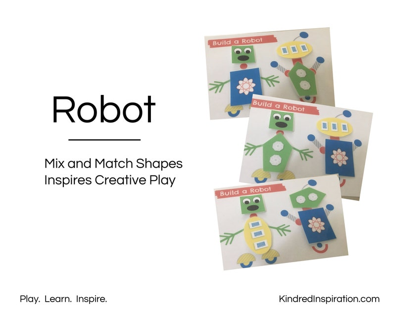 Busy Book: Shapes Educational Workbook Travel Toy and Games Preschool Printable Quiet Book Pre-K Activity Pack Toddler Learning Binder