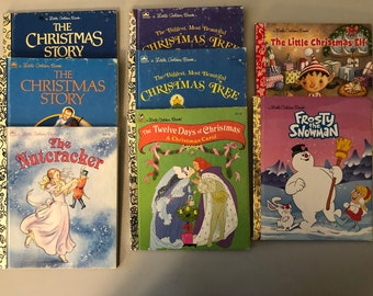 Little Golden Books - Christmas Theme