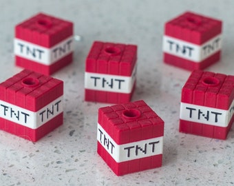 TNT Box Candle Holder || 3D printed || Set of 6