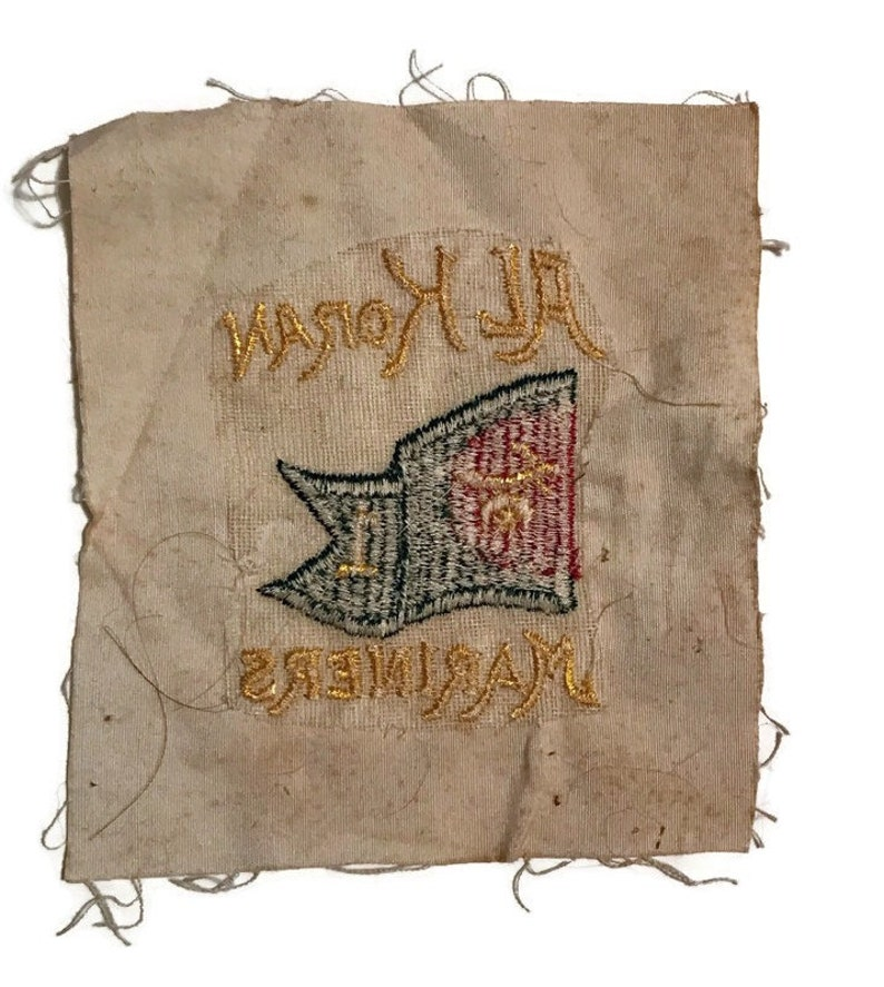 Vintage Al Koran Mariners Cleveland Yacht Club Patch