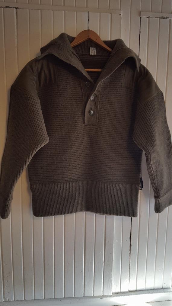 Robust Genuine Austrian vintage wool sweater. Size