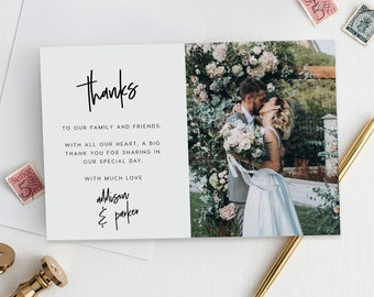 Wedding Thank You Cards.Thank You Cards Etsy