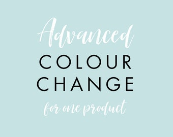Advanced Colour Change for one product