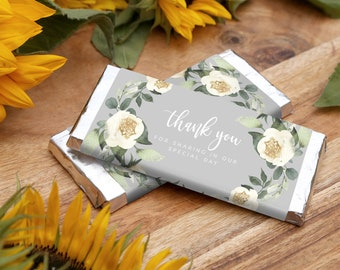 Wedding Chocolate Bar Label INSTANT DOWNLOAD Candy Bar Wrapper, Hershey, Aldi, Templett, Printable, Instant Download, Thank You for coming