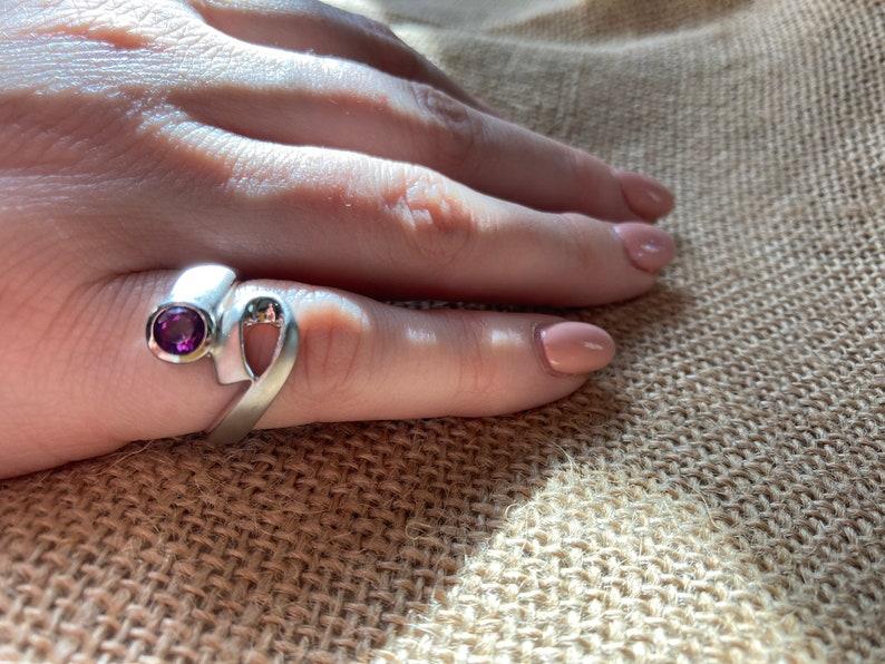 P\u00e0et Ronald Stevens Collection Modern Gemstone Rings