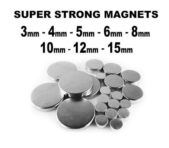 Small Neodymium Magnet Disc 2mm 3mm 4mm 5mm 6mm Tiny Rare Earth Craft UK Seller