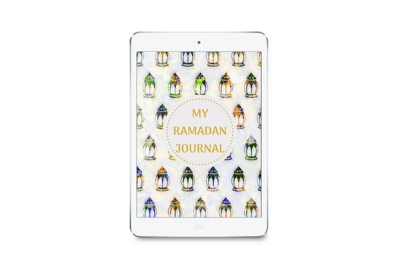 My Ramadan Journal DIGITAL For Muslim Kids To Track Reflect image 0