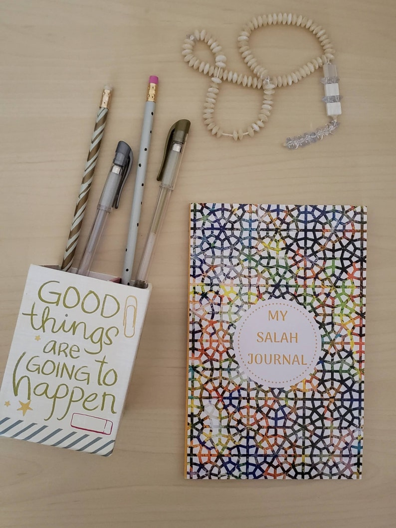 My Salah Journal For Muslim Kids To Track Reflect and image 0