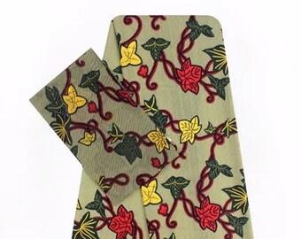 Faux Silk Satin & Chiffon Ankara Print Combo - Modesty