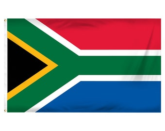Printed Polyester Flag - South Africa